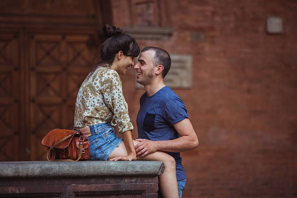 L'engagement session a Bologna di Giulia e Gianluca